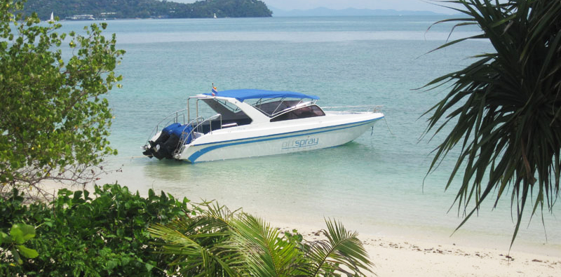 Offspray Leisure speed boat charters Phuket