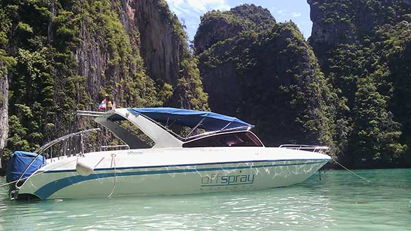 speedboat rental Phuket