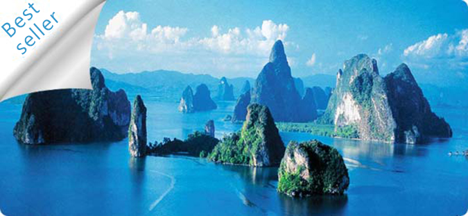 See the amazing jurrasic features of Phang Nga Bay