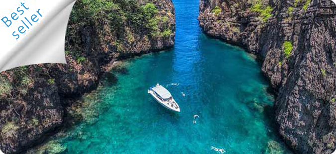 Charter our boat to Phi phi islands for a day